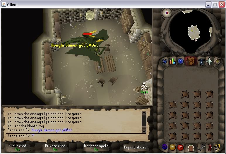 Senseless Taks = Completed at 65 Combat!!! New Record FTW? Step5