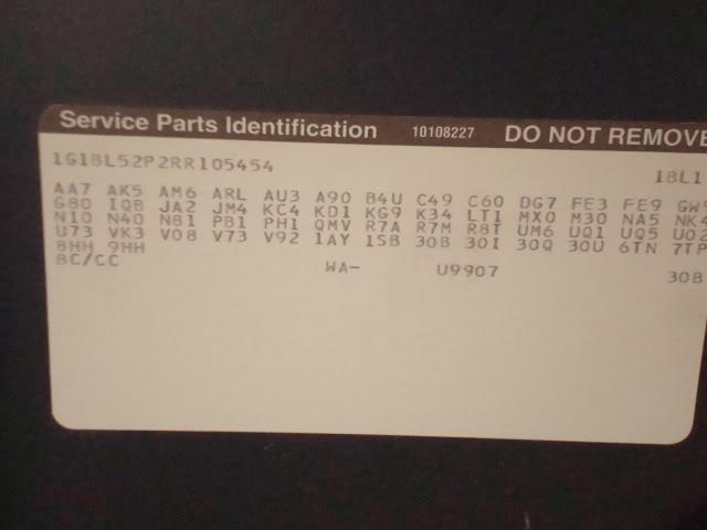 94 LT1 G80 Caprice roller F/S DSC01724