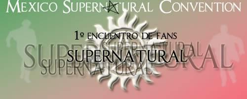 1 Reunion de Fans de Supernatural: MEXICO Banner02