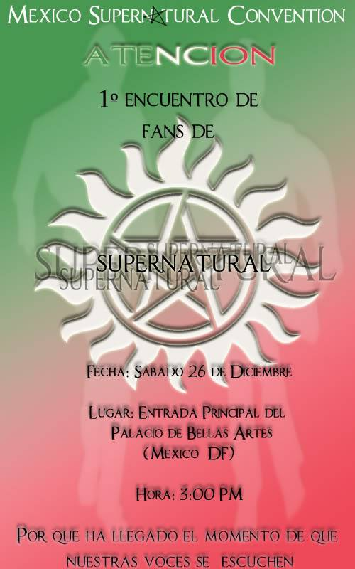 1 Reunion de Fans de Supernatural: MEXICO Prueba03