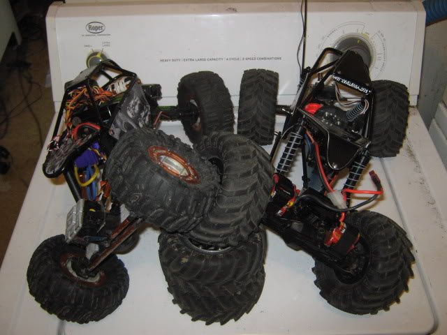 Project Dark One and Uber Tuber RCCars196