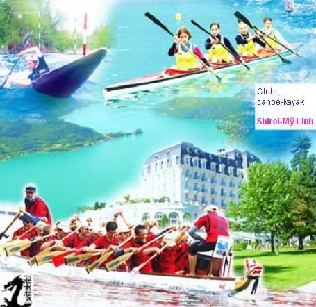 Chèo thuyền kayak Cheothuyen-ShiroiMyLinhVntvnd