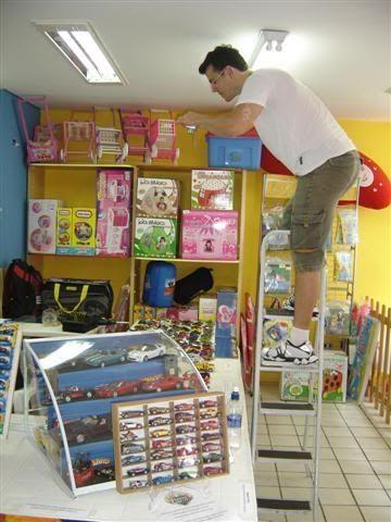 FOTOS DO ENCONTRO NA LOJA KID+ EM LONDRINA - 08/11/08 AMIGOS23