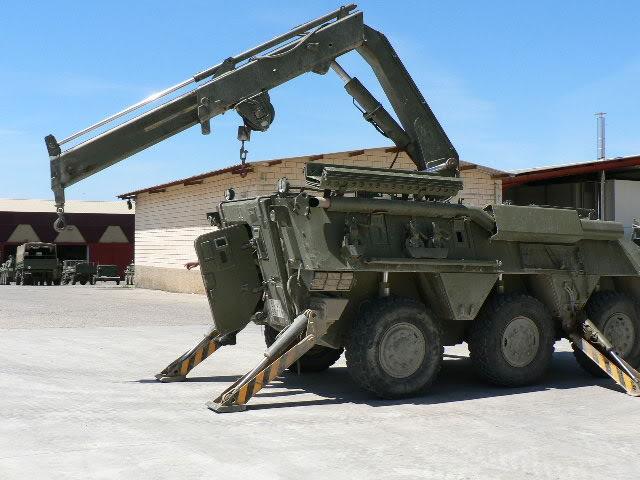 BMR 600 M1 de Recuperación   1:72 Semi-Scratch BMR600Grua82