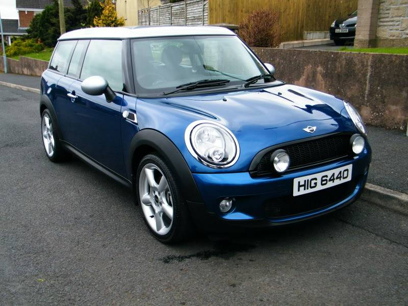 Megs G220 VS MINI Clubman DSCF4617
