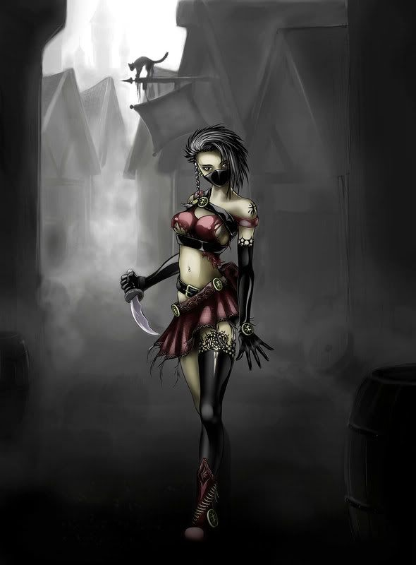 Assasin girl Pictures, Images and Photos