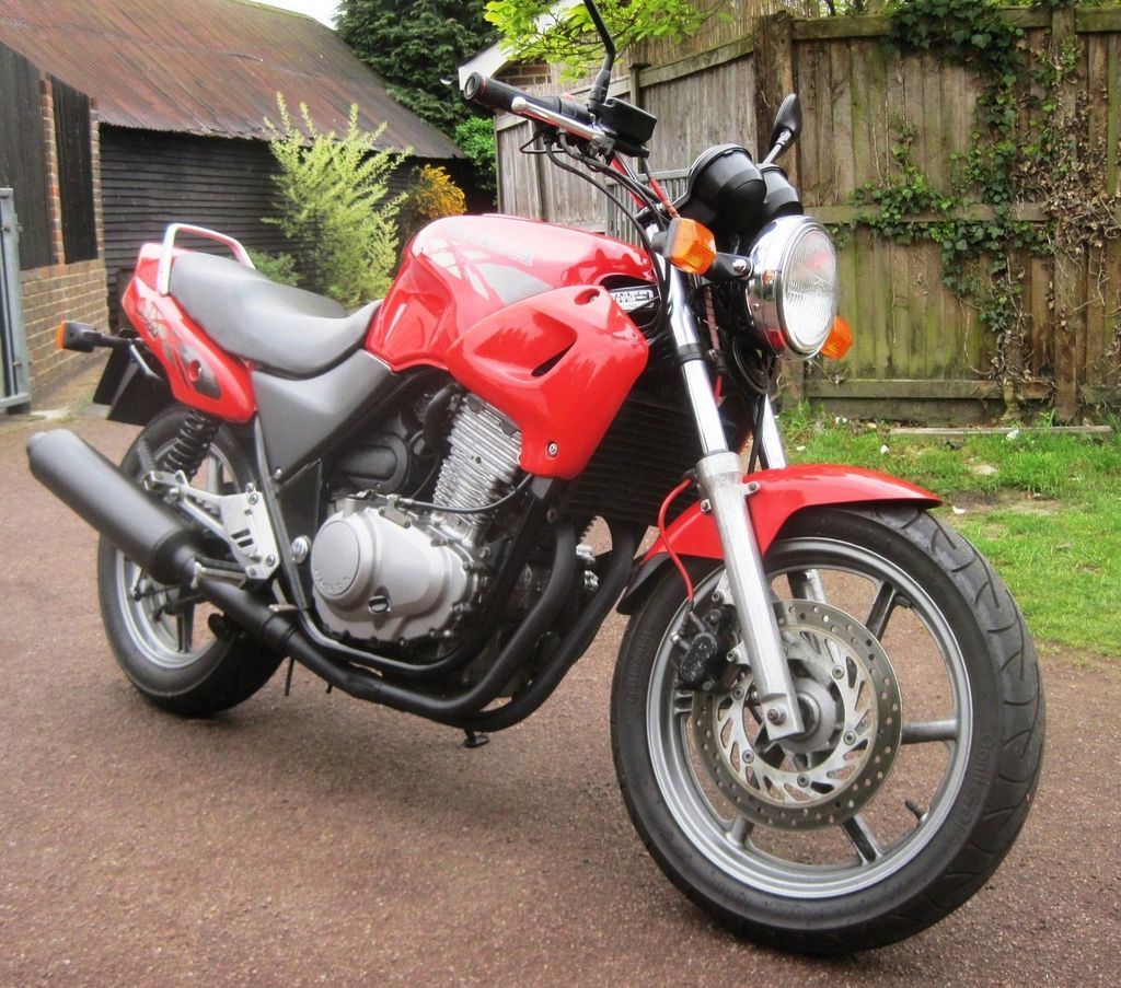 Old Bike, new boy Cb500