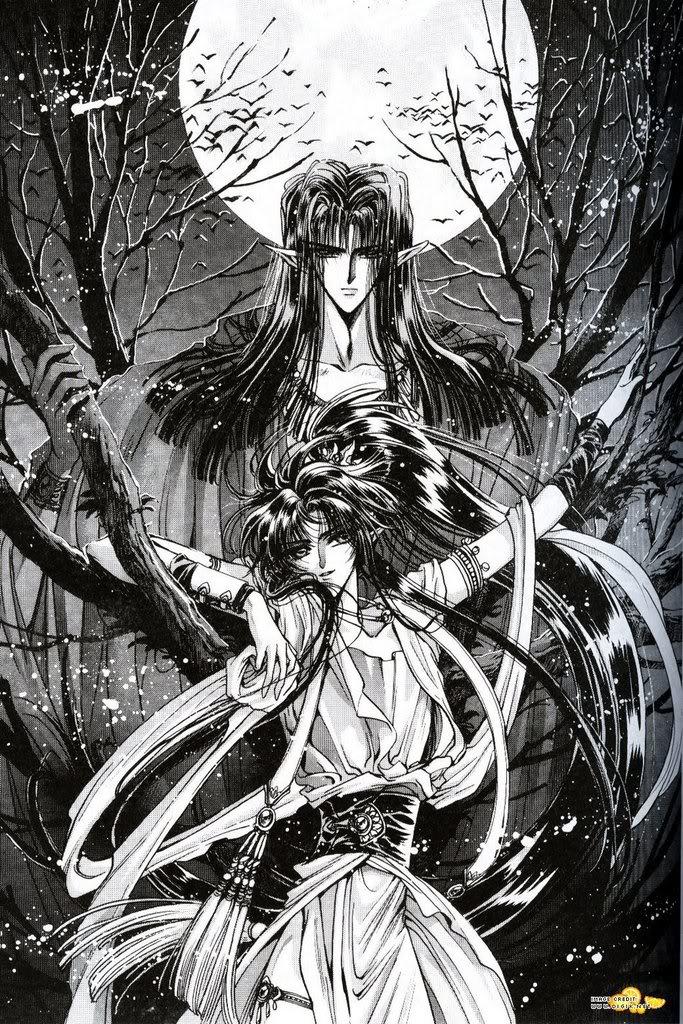 Personagens de animes que parecem ser do sexo oposto AshuraandAshura-