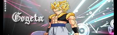 3º Sign-Dragon ball Z/GT Gogeta