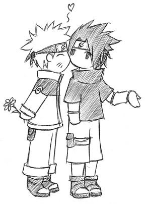 Cute SasuNaru Pictures, Images and Photos