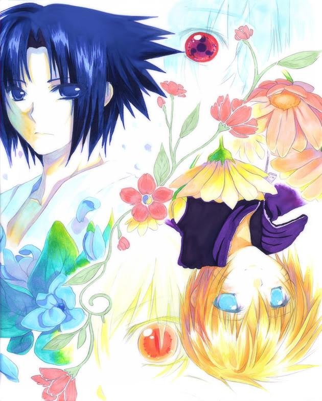 Image Yaoi : Naruto/Sasuke Prettysasunaru