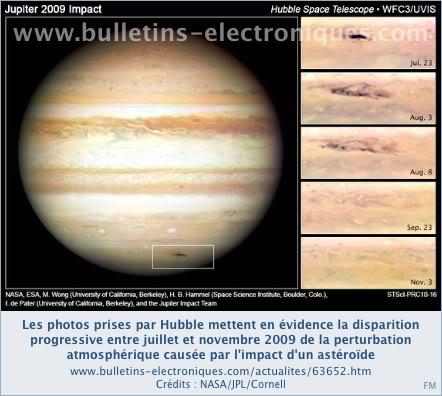 Collisions, disparitions, découvertes : pot pourri des dernières nouvelles du système solaire 63652_04_01