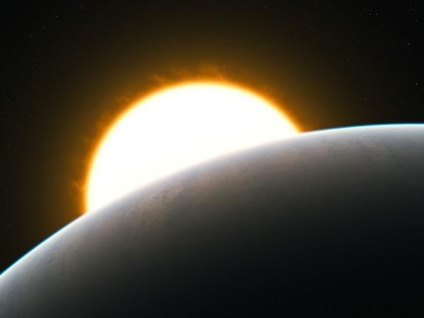 Le VLT détecte la première super-tempête sur une exoplanète Eso-exoplanete-super-tempete-artist