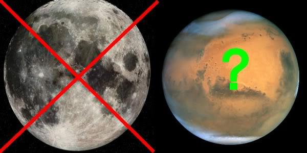 Obama ne veut plus décrocher la Lune Lunemars