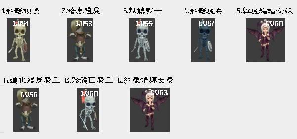 [怪物] 分怖圖 1-45含BOSS 完成! 01-15