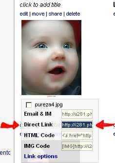 Básico p/alojar imágenes usando Photobucket PBucketsubirimagenURL3