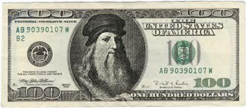 Pon tu cara en un billete [Varios Billetes] Dolar_davinci_53kb