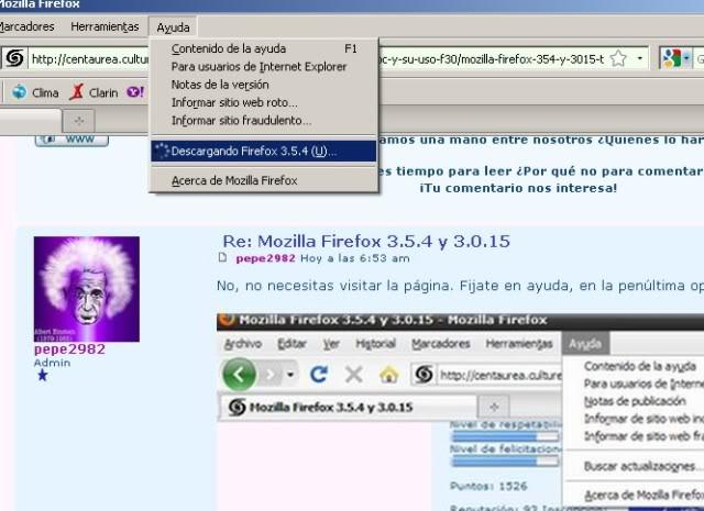 Mozilla Firefox ültimas versiones FFActua