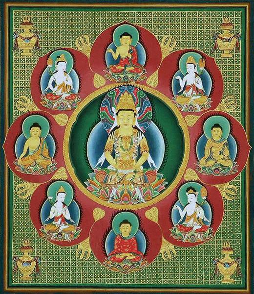 Mandalas (dibujalos y conoce su significado) 520px-Mandala1_detail