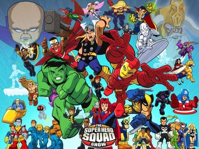 MARVEL SUPER HERO SQUAD Shs1