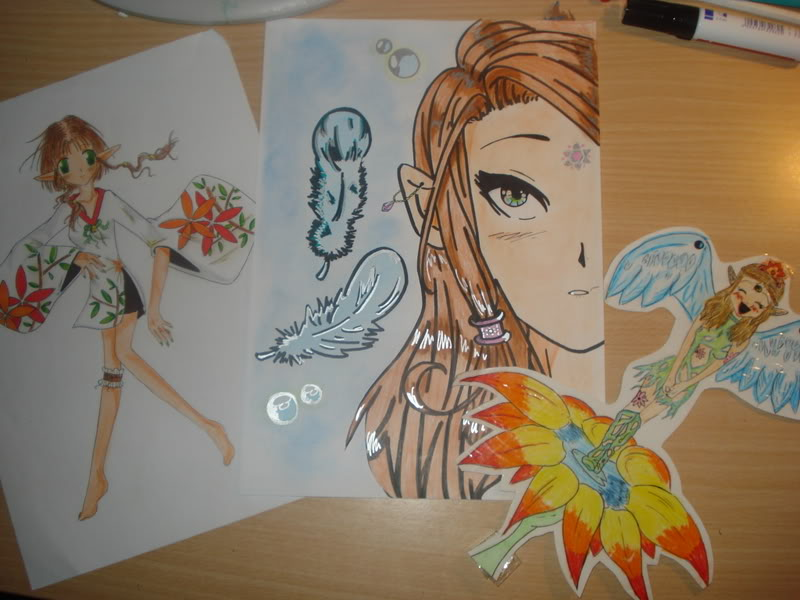 Mi galeria de dibujos! echos por mi, nada de otras series ;) DSC00678