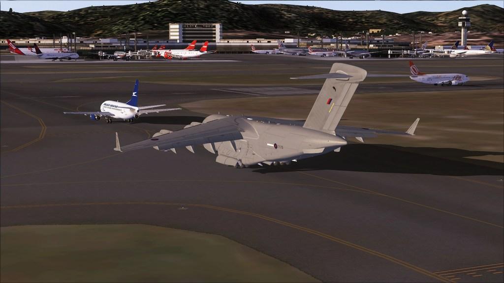 BASP - Lynehan AFB com o C-17 da RAF Mini--2012-jun-3-010