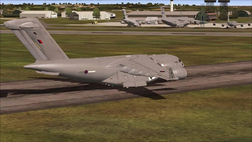 BASP - Lynehan AFB com o C-17 da RAF Mini--2012-jun-3-087
