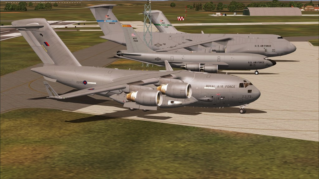 BASP - Lynehan AFB com o C-17 da RAF Mini--2012-jun-3-089