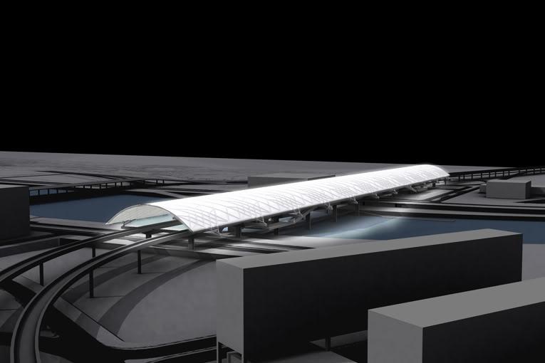 Estação Intermodal - Projecto do gabinete MMBB 218_f03