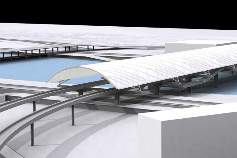 Estação Intermodal - Projecto do gabinete MMBB 218_f04