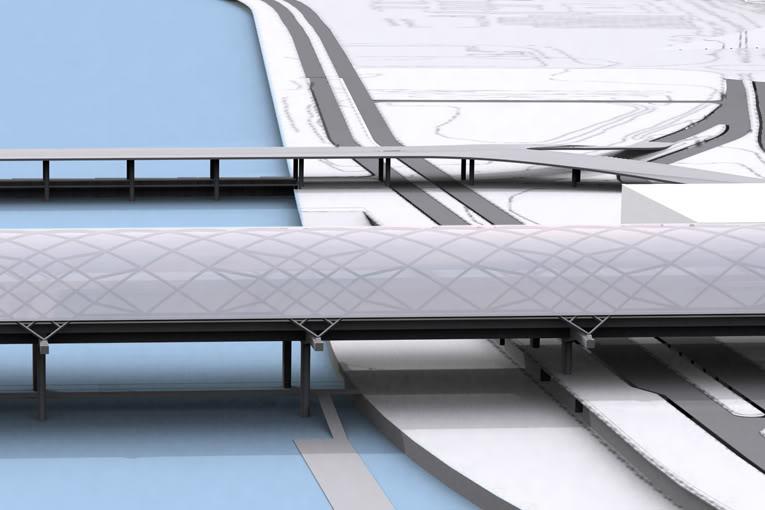 Estação Intermodal - Projecto do gabinete MMBB 218_f05