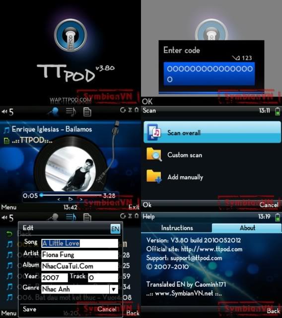 Ttpod music player Superscreenshot0071tile