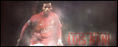 Manchester United Nani-Signature