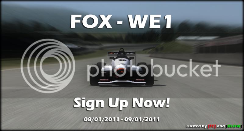 [TC] & [GLOW] Present - FOX - WE1 Signups