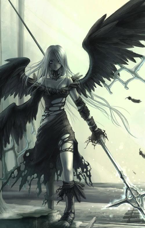 Morana Black DarkEmoAngel