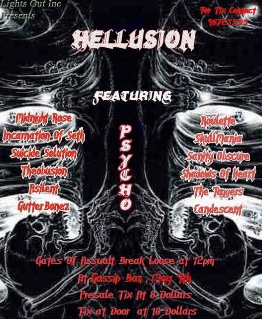 Hellusion At Gossip Bar Hellusion