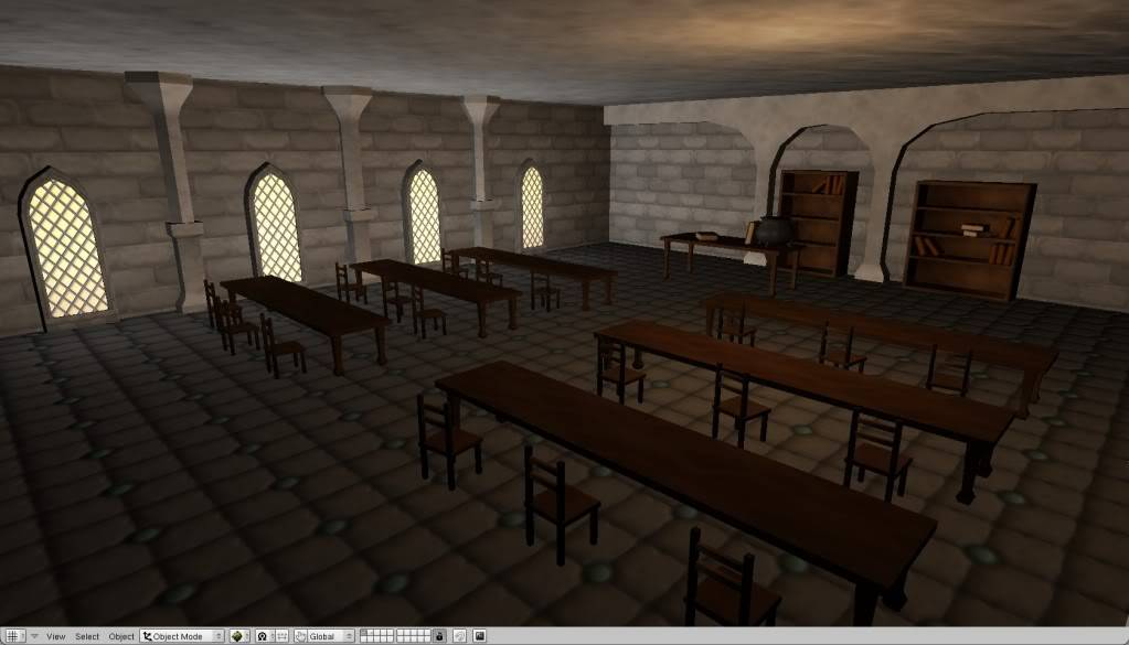 Empty Room One; Practice Room Class_room_screenshot-2