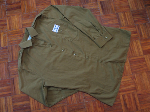 IDF Shirt w/ Israel Flag Patch 003-42