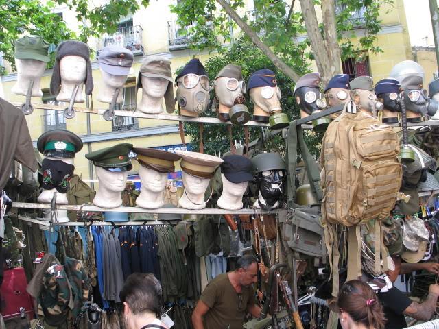 """""""El Rastro"""" flea market in Madrid, Spain 573"""