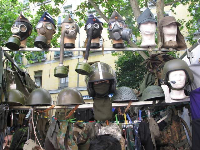 """""""El Rastro"""" flea market in Madrid, Spain 574"""