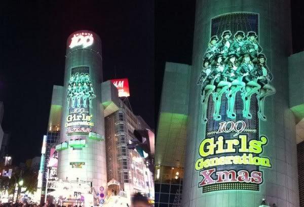 SNSD và SHIBUYA109 hợp tác quảng cáo Giáng Sinh.  Options  Track this topic  20101130_snsd_shibuya_2-600x409