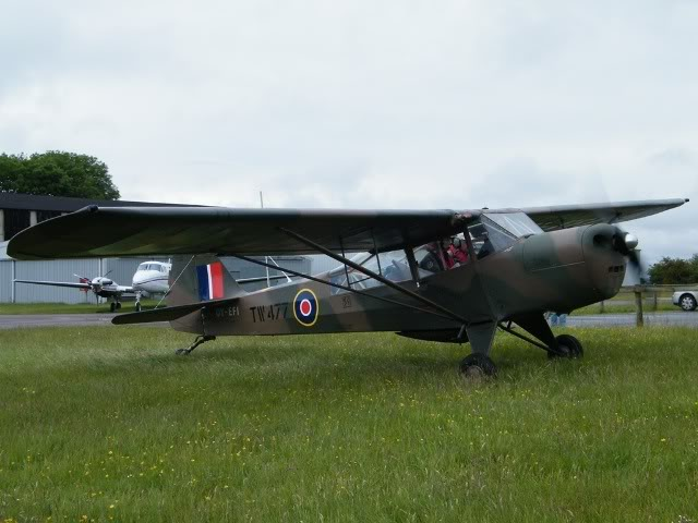 Auster V's at Leicester, 6-7 June A13-1