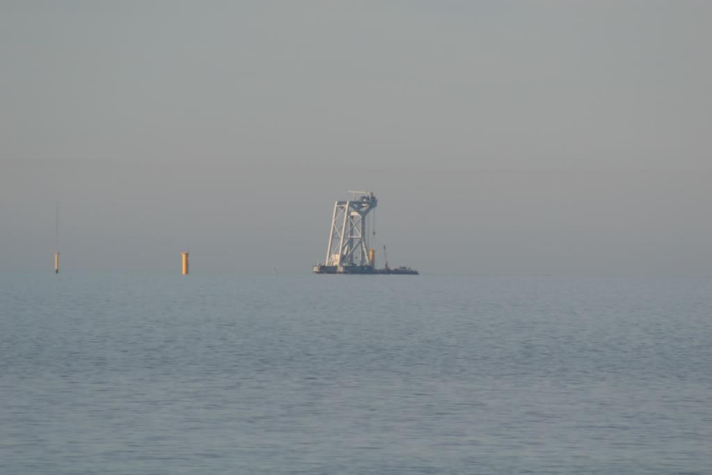 Svanen at work off Rhos on Sea IMG_4375