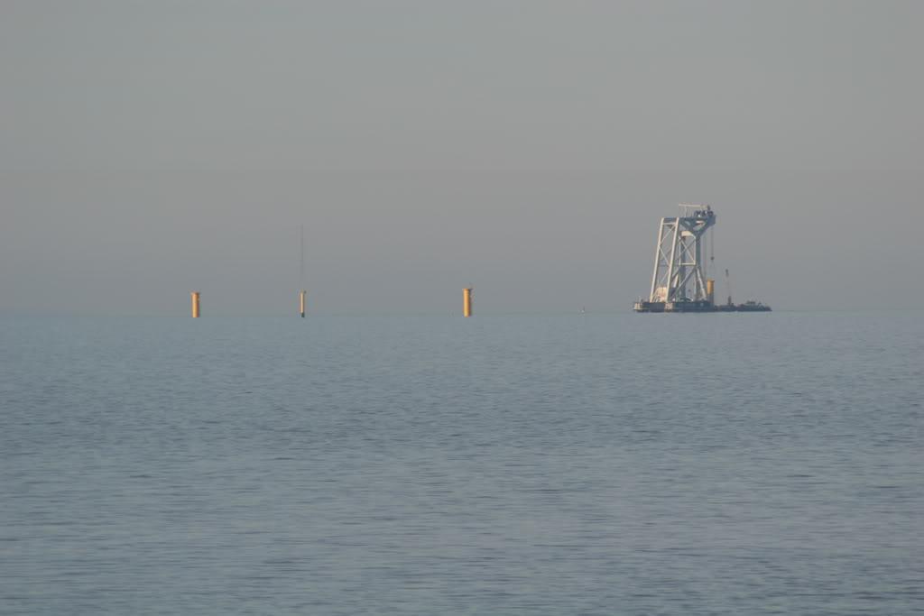 Svanen at work off Rhos on Sea IMG_4376