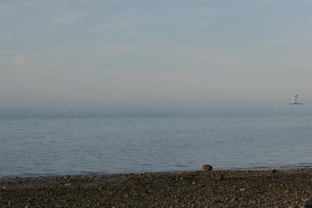 Svanen at work off Rhos on Sea IMG_4377