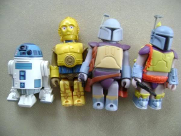 Kubrick figures Droidskubrickfigures