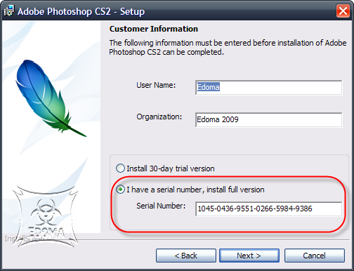 Descargar Adobe Photoshop CS2  P2