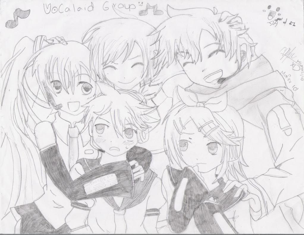 Mis dibujines *-* VocaloidGroup001