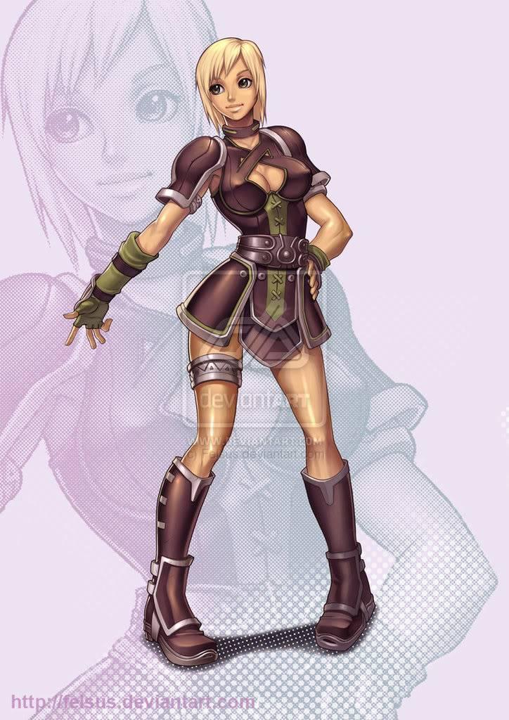 Tello's pix's Girl_Mercenary_by_Felsus