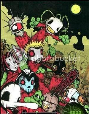 Slipknot anime CartoonSlipknot